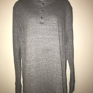 Paper Denim & Cloth Long-Sleeved Grey Shirt